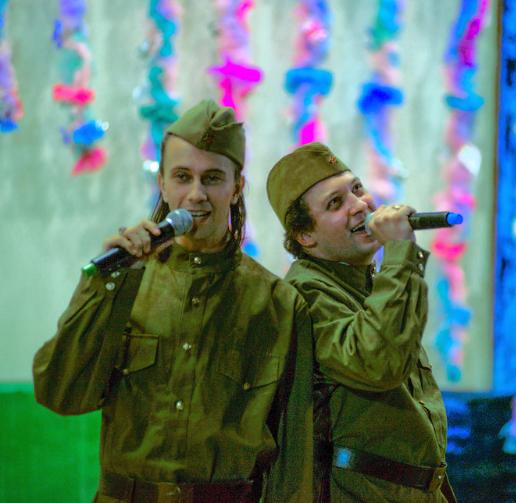 концерт военных песен, заказть программу военных песен, кирилл демьянов, программа для ветеранов, пушкинский музыкальный театр, оперетта на заказ