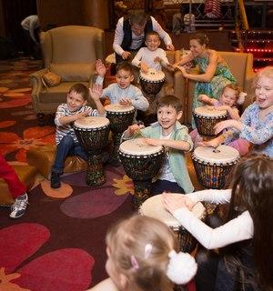 мастер-класс в Пушкино, заказать мастер-класс барабанный Пушкино, дед мороз мытищи, дед мороз в детский сад